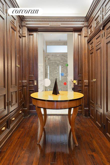 New York City Real Estate | View 105 West 122nd Street | Main Bedroom Closets