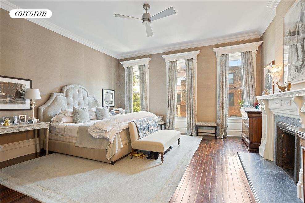 New York City Real Estate | View 105 West 122nd Street | North Facing Bedroom