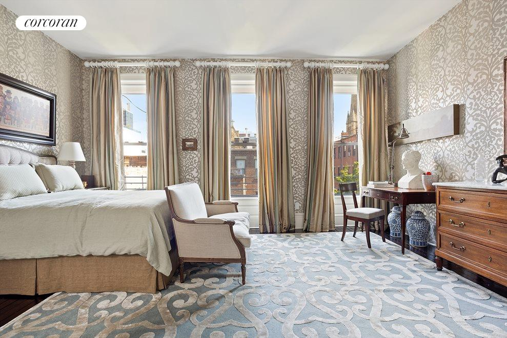 New York City Real Estate | View 105 West 122nd Street | Main Bedroom