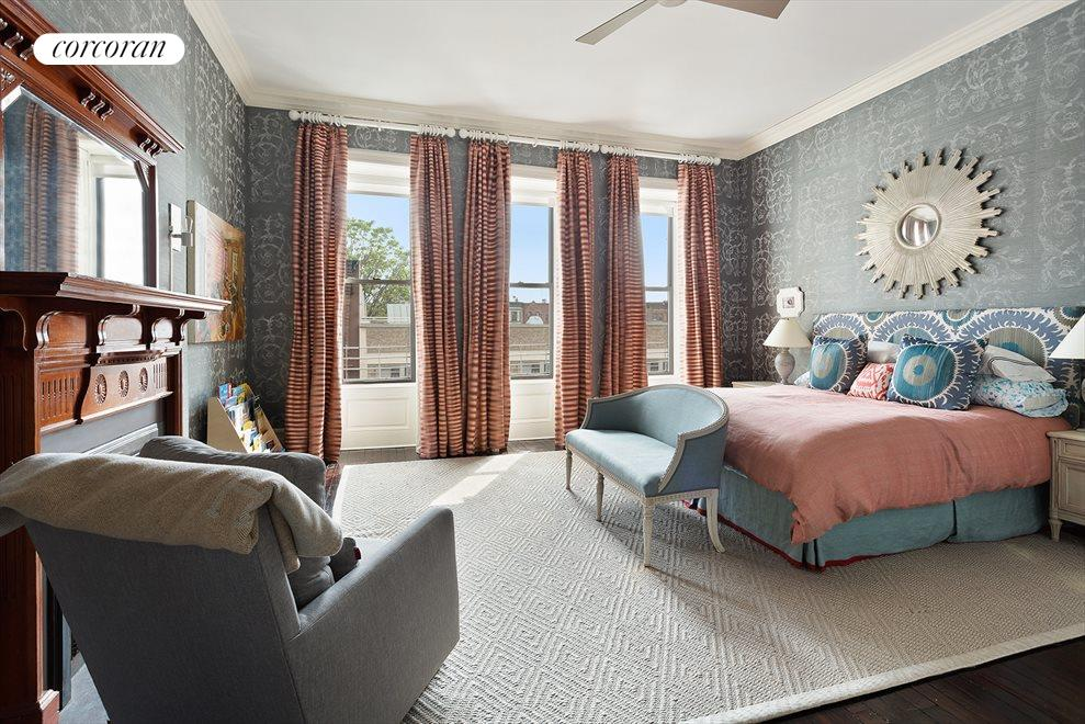 New York City Real Estate | View 105 West 122nd Street | South Facing Bedroom