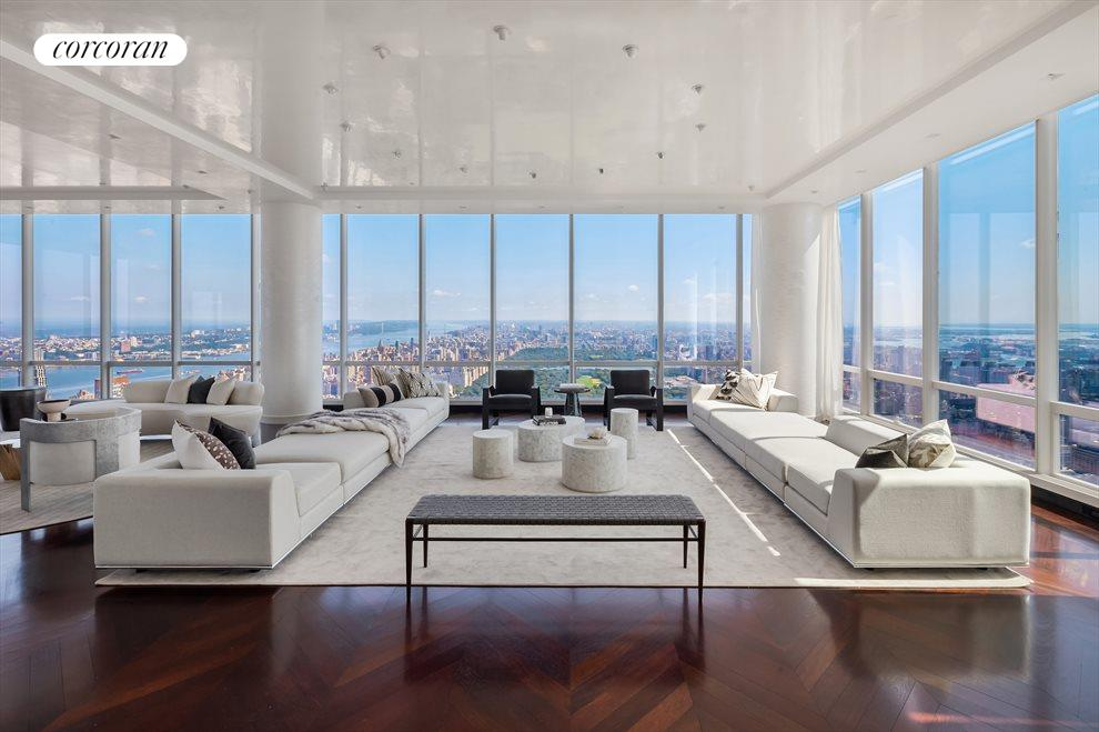 New York City Real Estate | View 157 West 57th Street, #86 | 4 Beds, 5.5 Baths