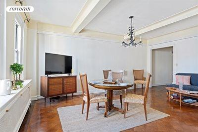 New York City Real Estate | View 70 Remsen Street, #8C | Living Room / Dining Room