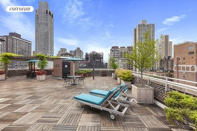 New York City Real Estate | View 1349 Lexington Avenue, #9C | Rooftop terrace offers open views