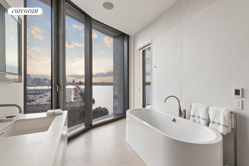 New York City Real Estate | View 160 LEROY ST, #NORTH9B | Master Bathrom