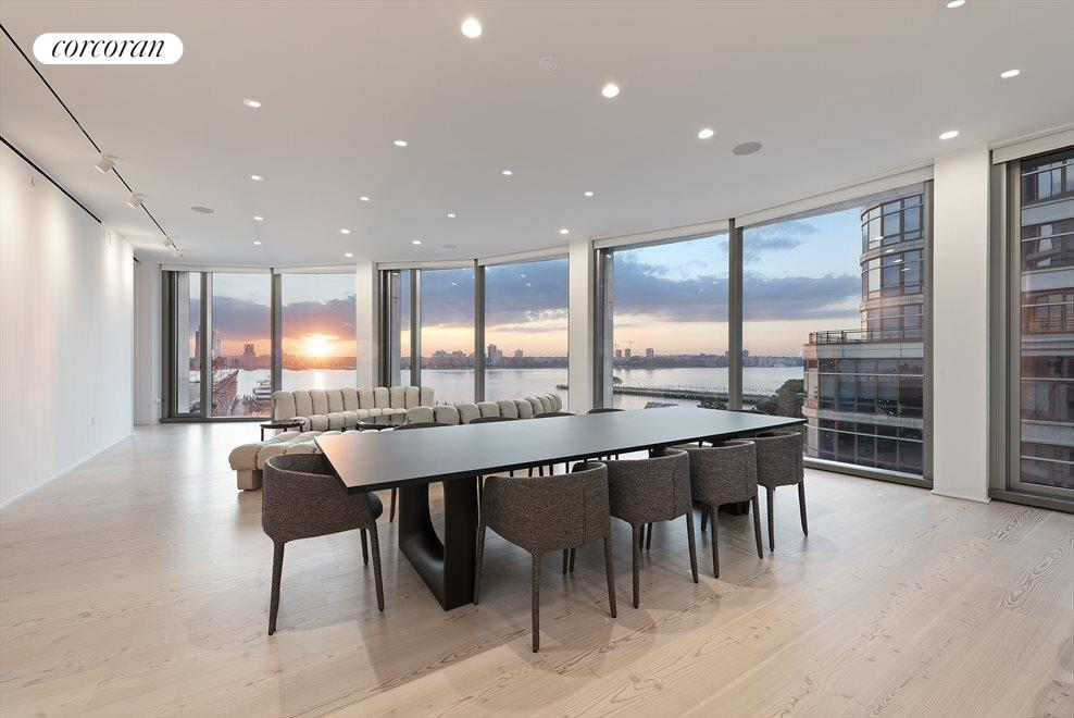 New York City Real Estate | View 160 LEROY ST, #NORTH9B | Dining Room