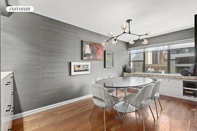 New York City Real Estate | View 510 East 86th Street, #18C | Dining Room. Can be converted to 3rd bedroom