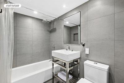 New York City Real Estate | View 510 East 86th Street, #18C | Second Bathroom
