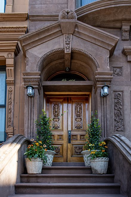 New York City Real Estate | View 105 West 122nd Street | Front Doors