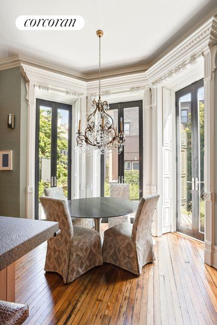 New York City Real Estate | View 105 West 122nd Street | Kitchen Dining Area