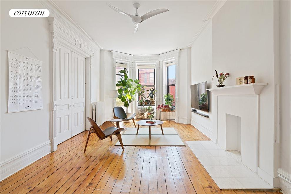 New York City Real Estate | View 17 Saint Johns Place, #2 | 3 Beds, 1 Bath