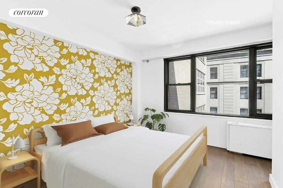 New York City Real Estate | View 85 Livingston Street, #16L | Stylish Bedroom