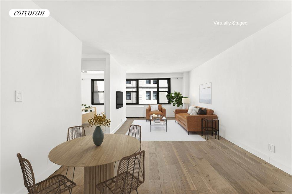 New York City Real Estate | View 85 Livingston Street, #16L | Big & Bright Living Room