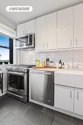 New York City Real Estate | View 365 Clinton Avenue, #8A | Kitchen