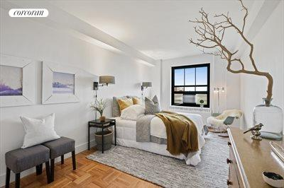 New York City Real Estate | View 365 Clinton Avenue, #8A | Bedroom