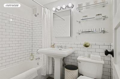 New York City Real Estate | View 365 Clinton Avenue, #8A | Bathroom