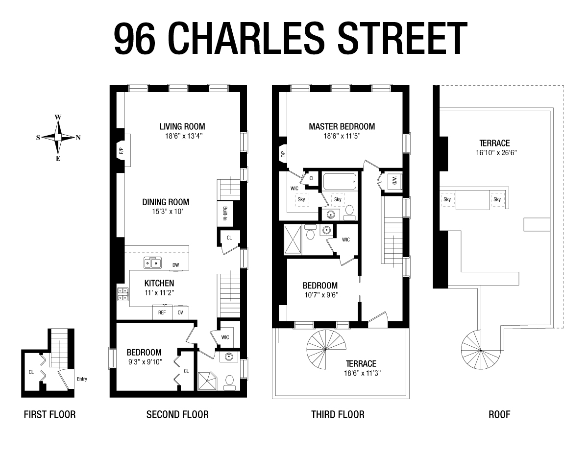 365 Bleecker Street W. Greenwich Village New York NY 10014