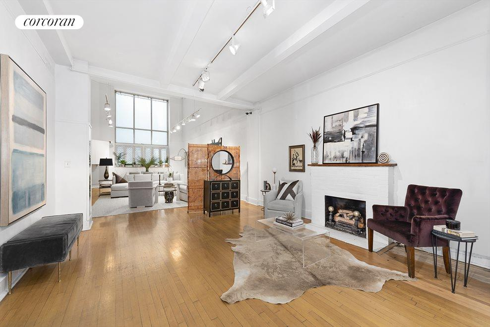 New York City Real Estate | View 255 West 86th Street, #Duplex | Immense Great Room