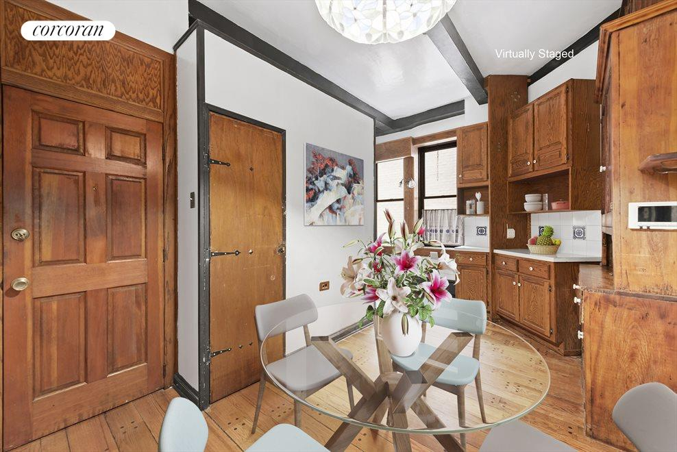 New York City Real Estate | View 255 West 86th Street, #Duplex | Huge Eat-In Kitchen