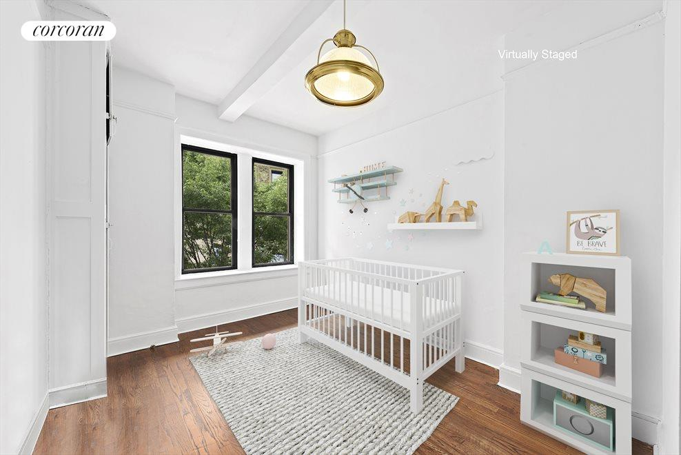 New York City Real Estate | View 255 West 86th Street, #Duplex | Bedroom 3
