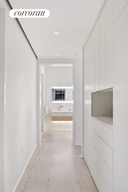 New York City Real Estate | View 160 LEROY ST, #NORTH9B | Walk-in Closet