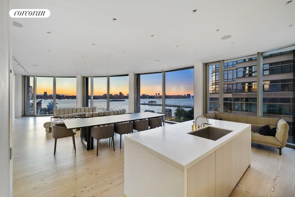 New York City Real Estate | View 160 LEROY ST, #NORTH9B | 4 Beds, 4.5 Baths
