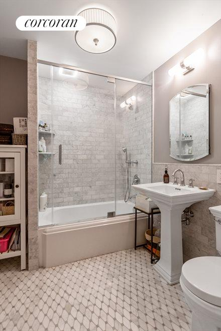 New York City Real Estate | View 838 Carroll Street, #Garden | En-Suite Master Bathroom