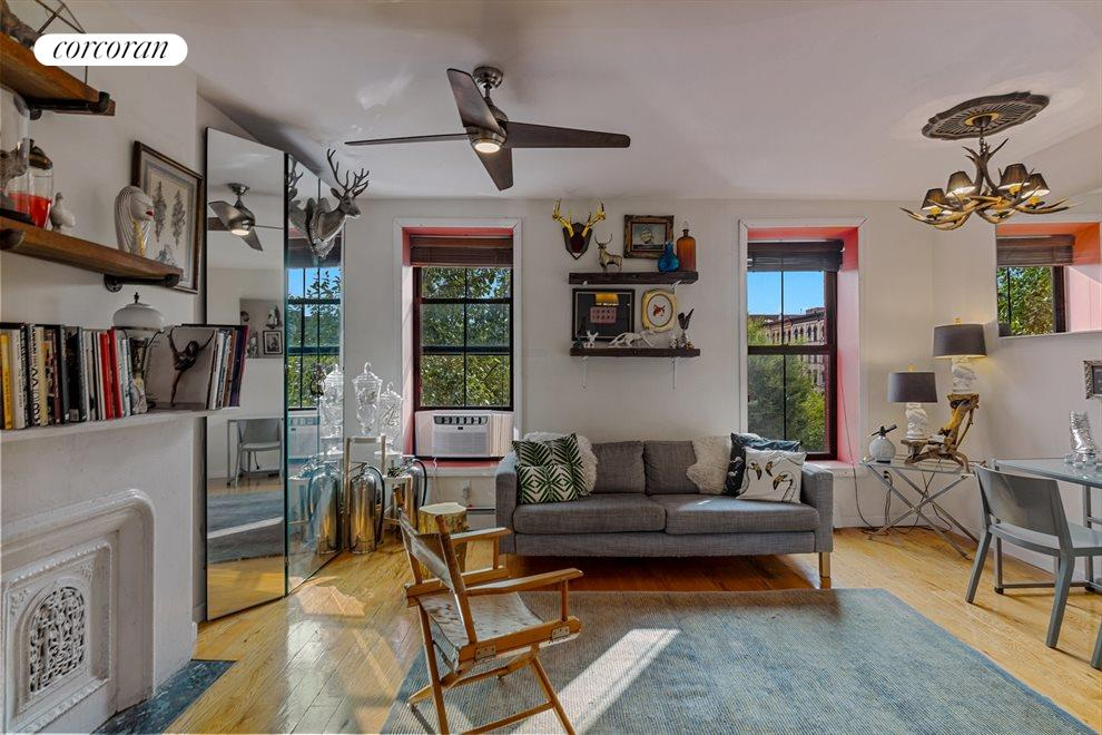 New York City Real Estate | View 120 PATCHEN AVE | Tenants living room