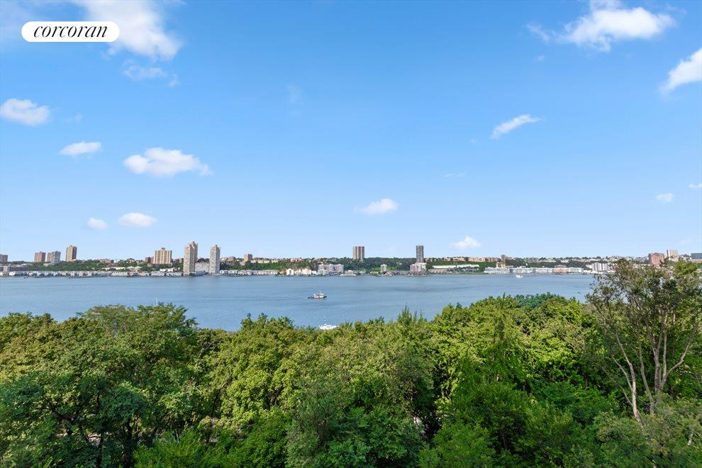 New York City Real Estate | View 137 Riverside Drive, #6/7D | View over the Hudson River