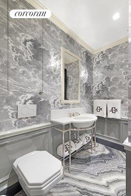 New York City Real Estate | View 830 Park Avenue, #7-8A | Full bath added during renov.; 4th upstairs bath