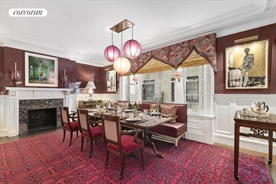 New York City Real Estate | View 830 Park Avenue, #7-8A | Expansive Dining Room