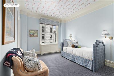 New York City Real Estate | View 830 Park Avenue, #7-8A | BR #3; spacious with large window