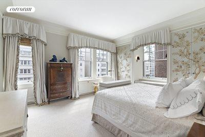 New York City Real Estate | View 830 Park Avenue, #7-8A | Primary BR #1; spacious corner room