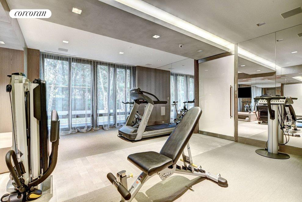 The Hamptons Real Estate | View 142 Crestview Lane | gym