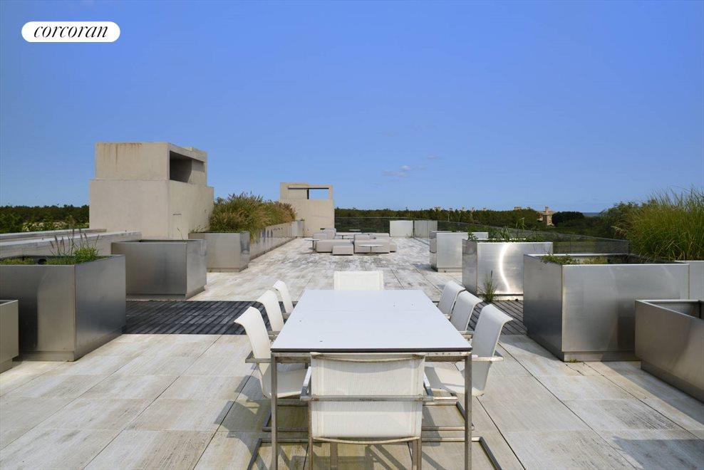 The Hamptons Real Estate | View 142 Crestview Lane | roof deck