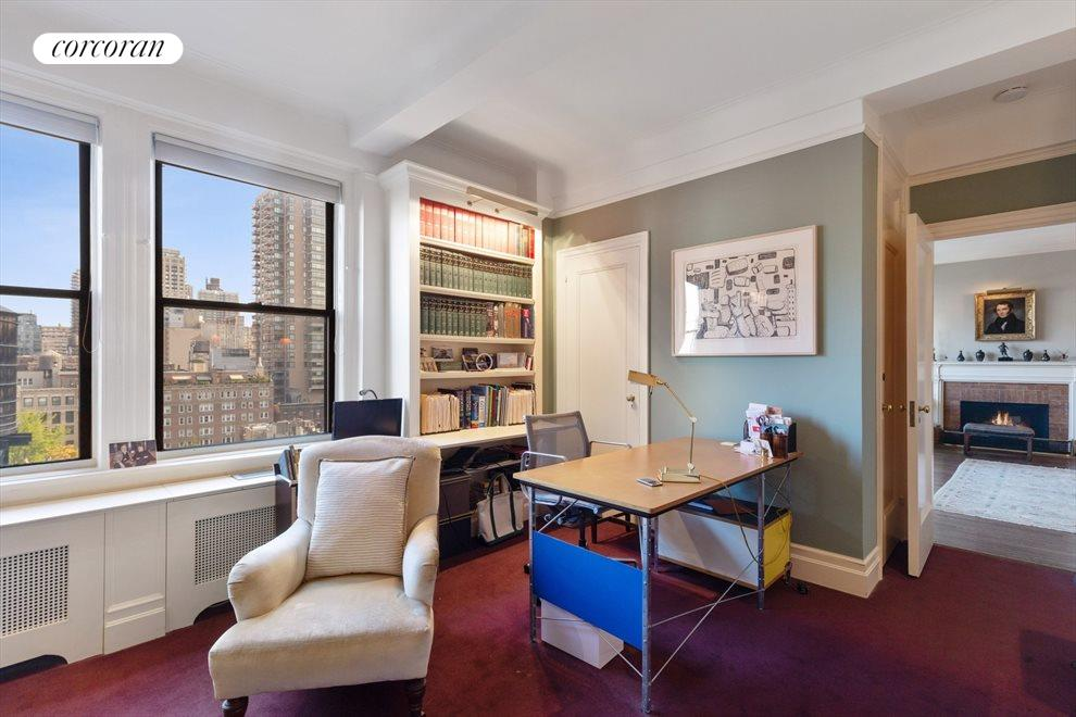 New York City Real Estate | View 175 East 79th Street, #14C | Bedroom with Home Office