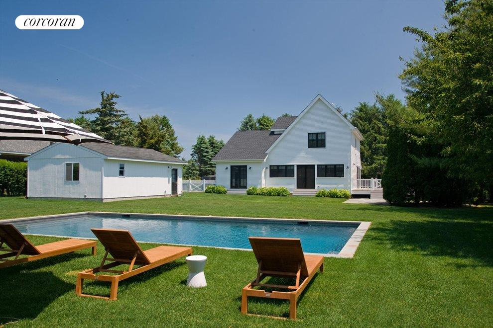 The Hamptons Real Estate | View 476 Blank Lane | Heated Pool