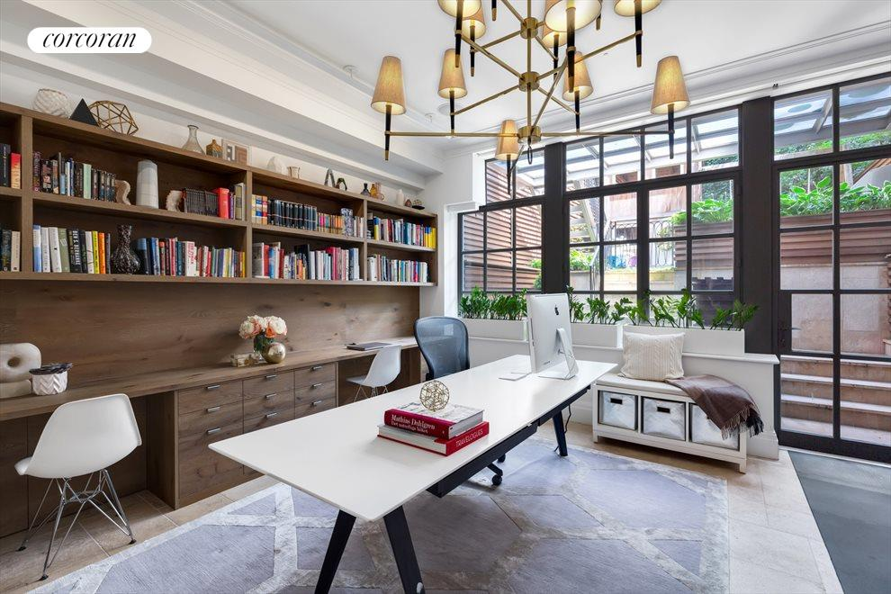 New York City Real Estate | View 163 East 82nd Street | Office/Gym - Garden Level