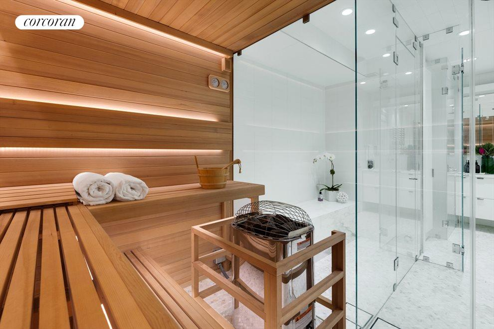 New York City Real Estate | View 163 East 82nd Street | Sauna/Steam Room - Garden Level