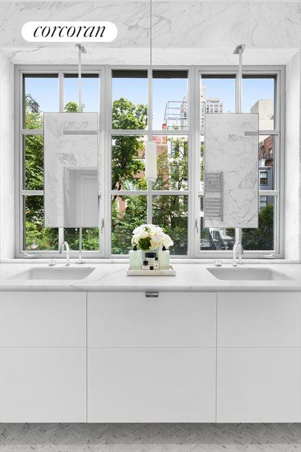 New York City Real Estate | View 163 East 82nd Street | Master Bath