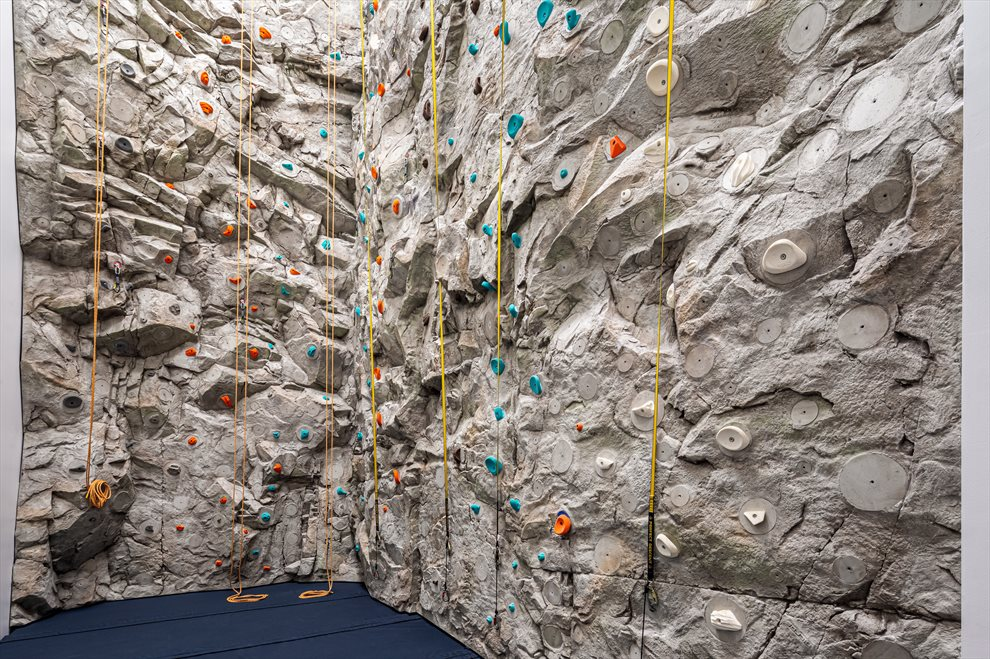 Waterline Square | 10 Riverside Blvd | 30-Foot Rock Climbing Wall