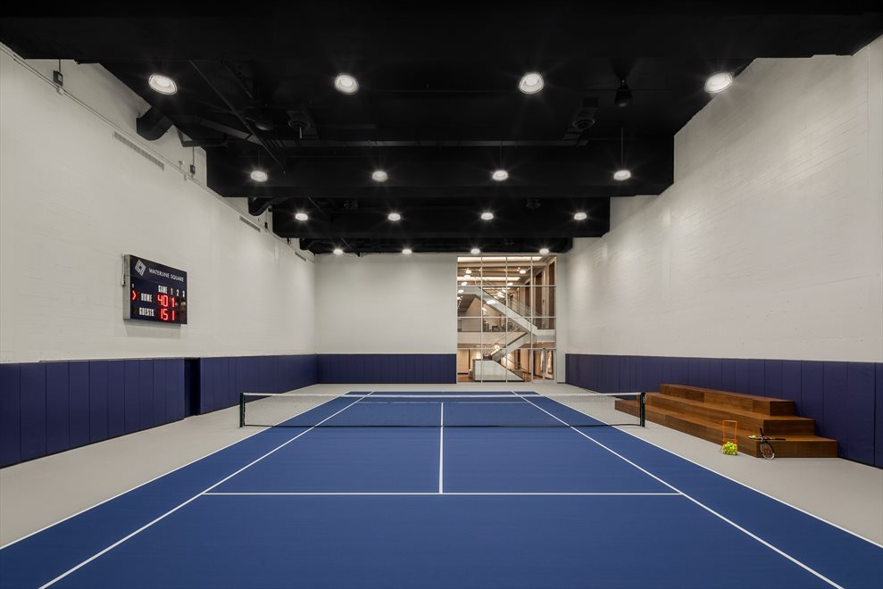 Waterline Square | 10 Riverside Blvd | Private Indoor Tennis Court