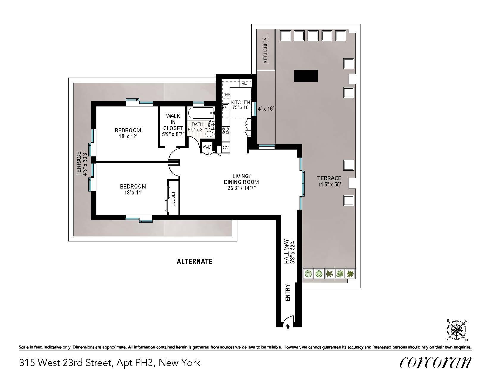 315 West 23rd Street Chelsea New York NY 10011