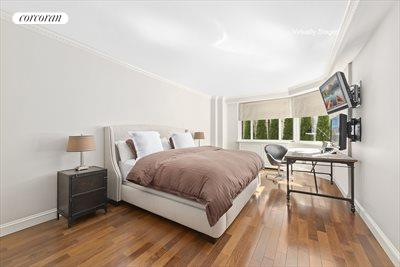 New York City Real Estate | View 30 East 62nd Street, #2H | Peaceful oversized bedroom