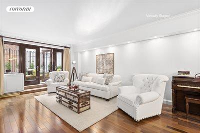 New York City Real Estate | View 30 East 62nd Street, #2H | Comfortable and spacious living room