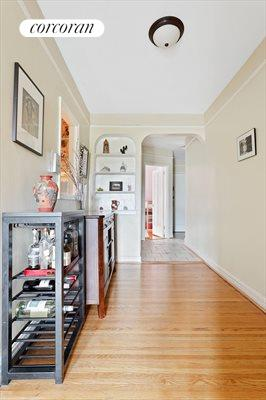 New York City Real Estate | View 415 Ocean Parkway, #4G | Hallway Alcove