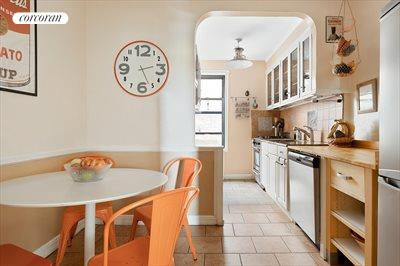 New York City Real Estate | View 415 Ocean Parkway, #4G | Eat-in Kitchen