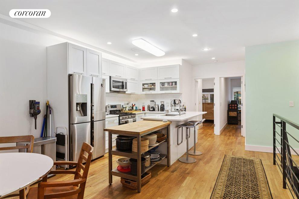 New York City Real Estate | View 44 Madison Street | Duplex kitchen