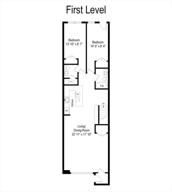 New York City Real Estate | View 44 Madison Street | Floorplan 5