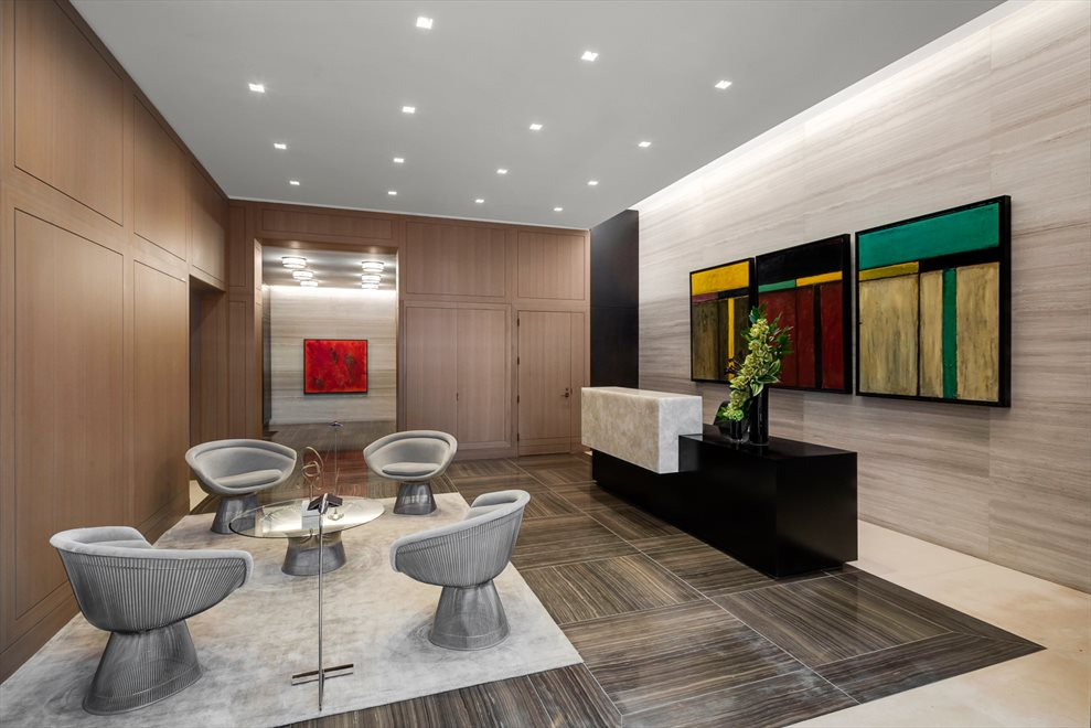 New York City Real Estate | View 1289 Lexington Avenue, #11D | Lobby with Concierge and 24-hour Doorperson