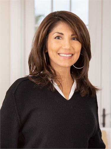 Mala Sander, a top realtor in The Hamptons for Corcoran, a real estate firm in Sag Harbor.